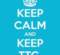 Keep Calm & Keep TTC logo