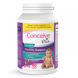 Fertility Support Supplements for women TTC by Conceive Plus