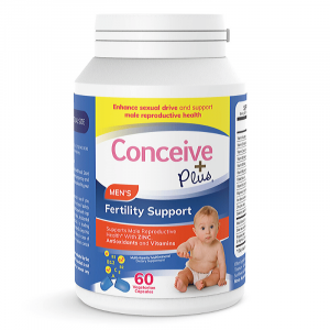 Conceive Plus Mens Spermatozoon Fertility Support Pills for increased libido when TTC