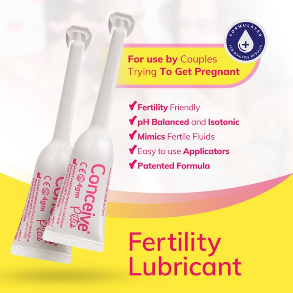 benefits lubricant  fertility conceive  applicator