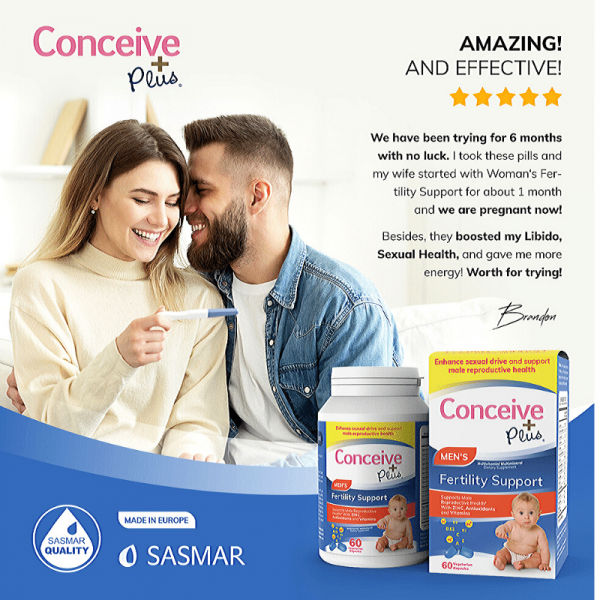 Review of Conceive Plus Men Fertility Support testosterone booster product reviews from Amazon