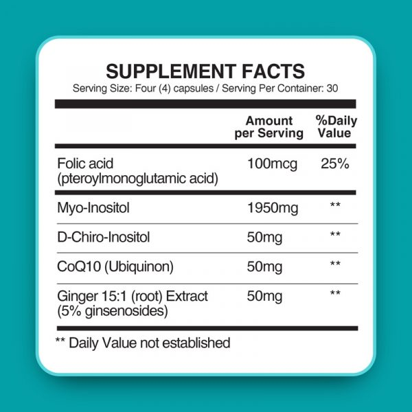 Conceive Plus ovulation support Ingredients vitamin list safety panel