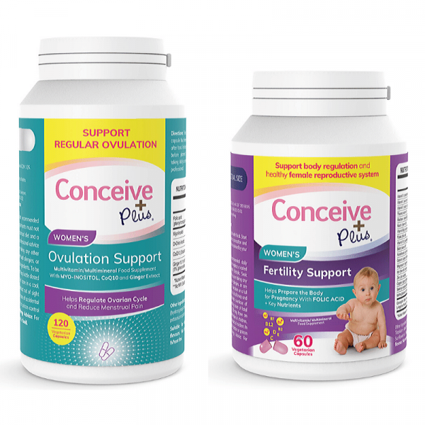 Ovulation pills for women with PCOS and fertility infertility capsules bundle